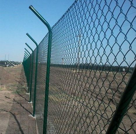 Gard din plasa împletită/imprejmuire