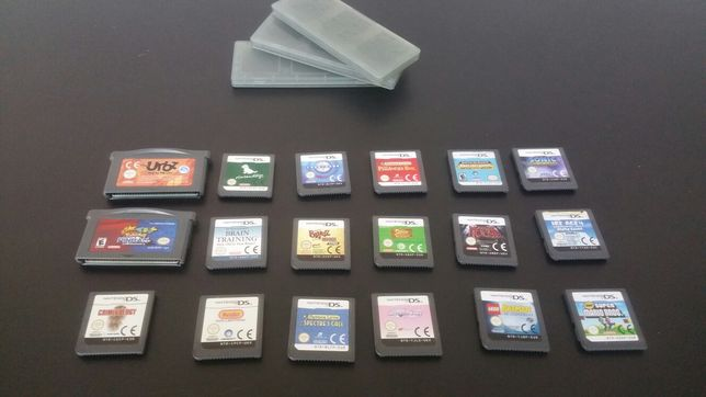 Joc - Nintendo - DS - games - casete - card -lego batman-ice age-mario