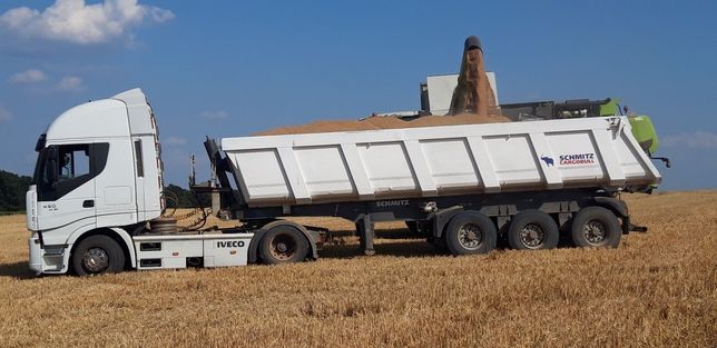 Ansamblu cap tractor iveco Stralis euro5 eev și semiremorcă Schmitz