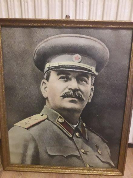 старинен портрет на Сталин