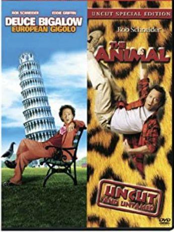 Filme comedie DVD Deuce Bigalow 1, 2 si The Animal by Rob Schneider