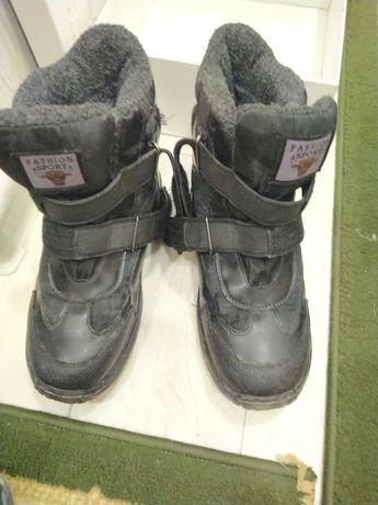Зимний обувь для мальчика