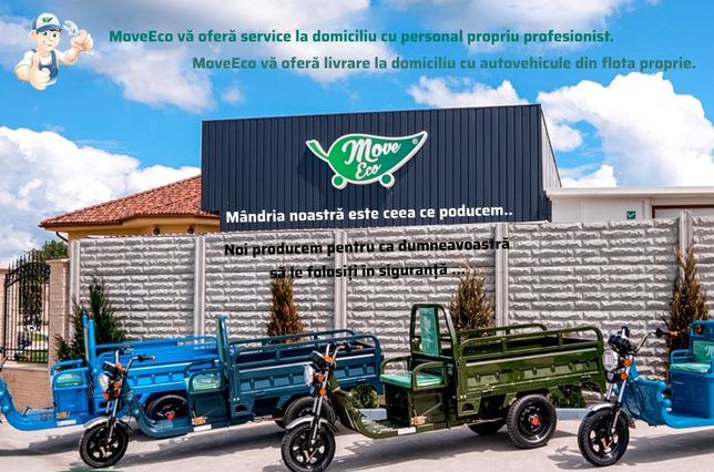 PROMOTIE/Triciclu electric marca MOVE-ECO