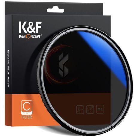 K&F Concept HMC CPL висококачествен поляризационен Slim CPL филтър