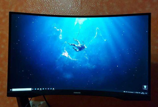 Монитор Samsung Odyssey G5 2k 144hz, 27, 1 мс