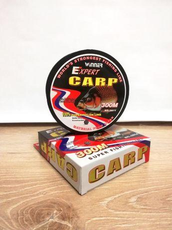 Леска карповая Expert Carp 0,3 мм
