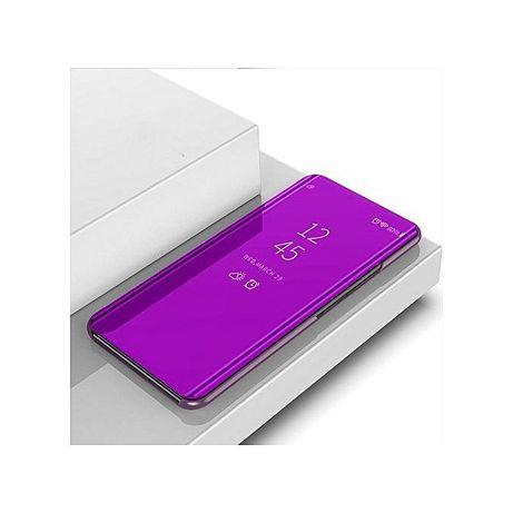 Husa Samsung Galaxy J6, Smart Clear View Purple