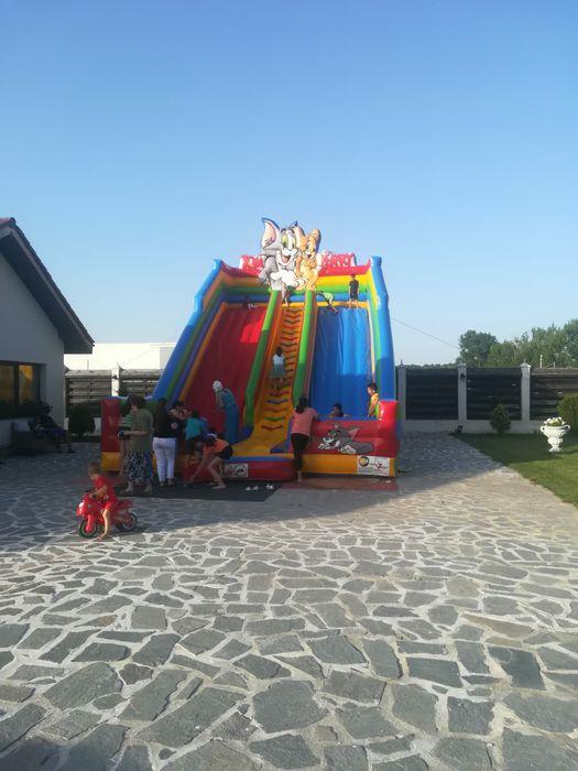 Inchiriem tobogane gonflabile,trambuline,atv-uri copii Slatina - imagine 1