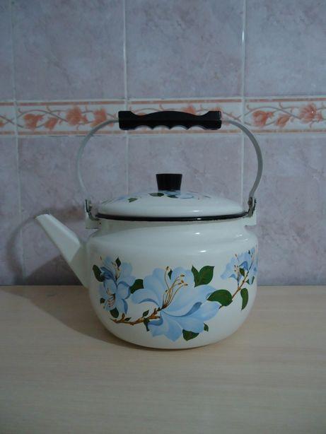 Новый набор эмалированной посуды см.фото