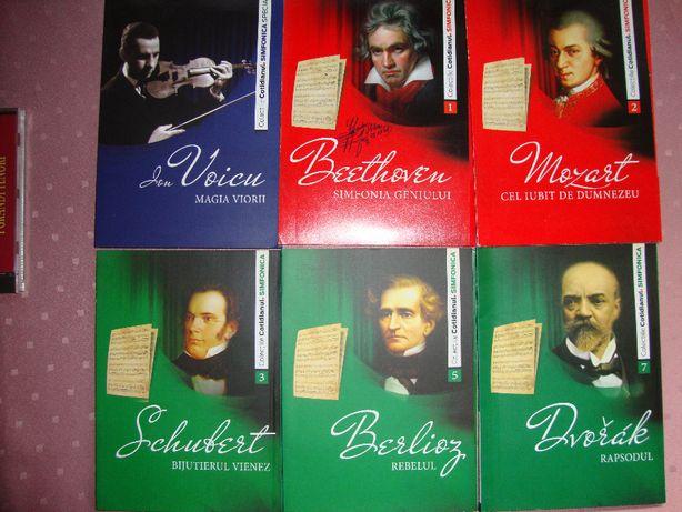CD audio de colectie, muzica simfonica si arii de opera cu mari tenori