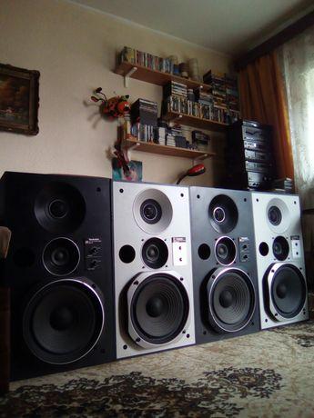 2 Boxe Technics SB-X5 Argintii Japan