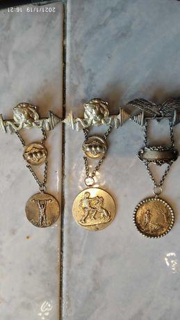 Посребрени Медали за вдигане на тежести 1926 г.