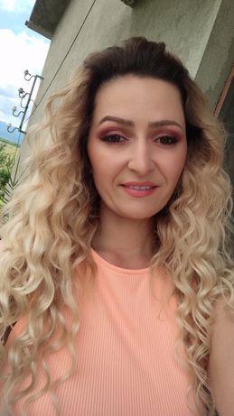 Естествена коса цвят 613