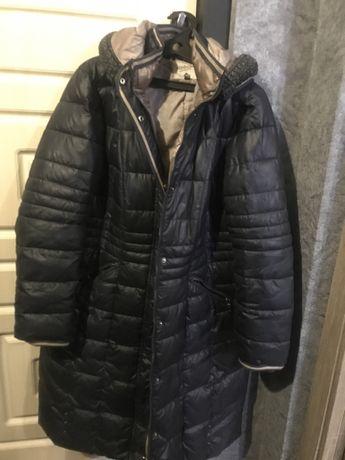 Пальто зимнее, блуза летняя 56 размер