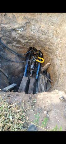 Гнб, прокол, канализация, прокладка труб под землёй.