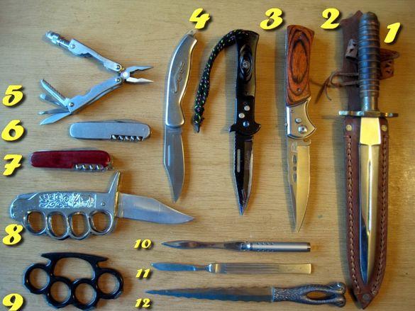Ножове, ловен нож, джобни ножчета, кама, остриета, инструменти