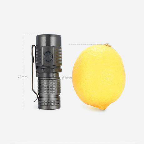 Lanterna mini ON THE ROAD U16 -Type-C USB Direct Charging