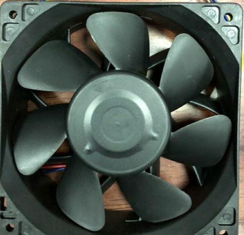 Вентилятор 120мм кулер асик cooler asic серверный