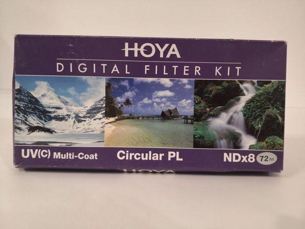Set filtre Hoya 72 UV CPL ND8