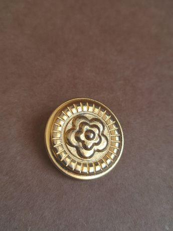 Nasture buton metalic elegant