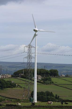 Turbina eoliana 100 kw. Echipament complet. Proiect energie verde.