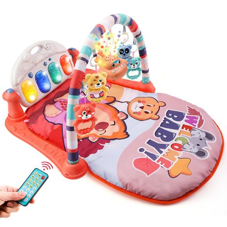 Детский развивающий музыкальный коврик с пианино