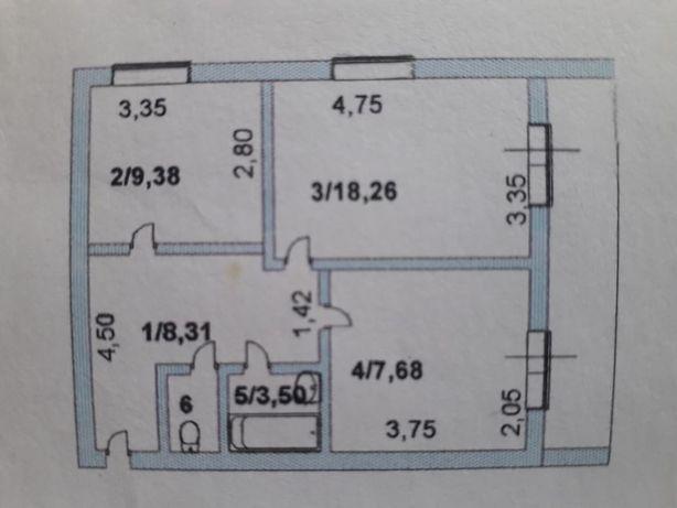 Продам квартиру в г.Есиль (больничный)