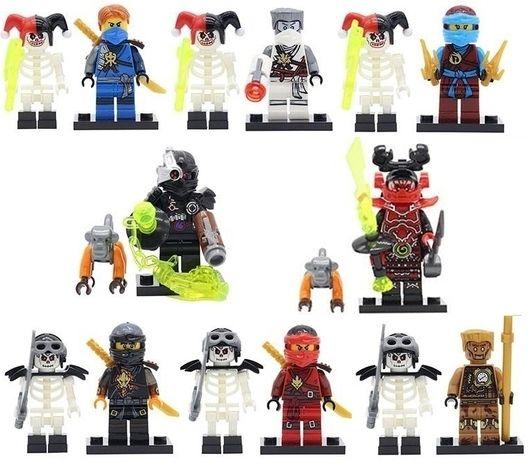 Minifigurine tip Lego Ninjago sezon 7 Rise of the Villains cu scheleti