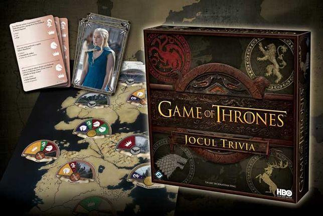 Game of thrones jocul trivia