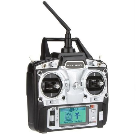 5002 / 6 канално радиоуправление с дисплей за дронове и лодки захранка