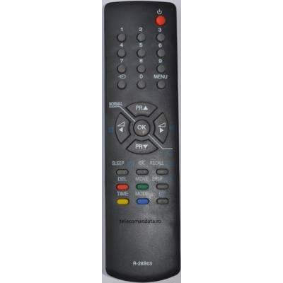 Telecomanda Daewoo R-28B03, 14A5VERS1, 20A1, 20B1, 28G2, 28G2ST, DMQ14