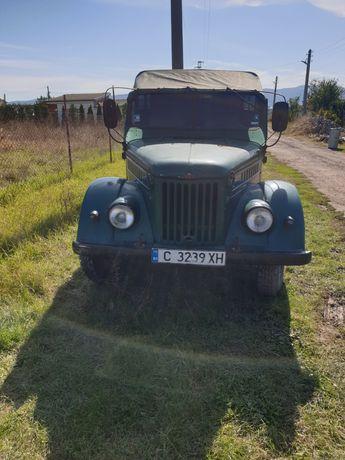 ГАЗ 69 във движение