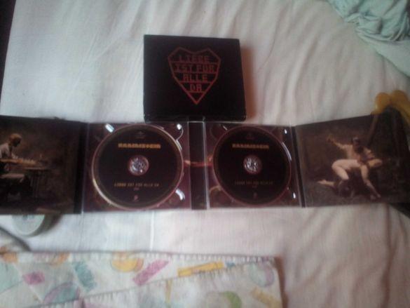 """Двоен диск - CD на Рамщайн - Rammstein - """" Liebe Ist Für Alle Da """""""