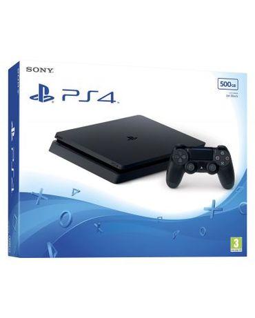 Sony PlayStation 4Slim Нов/PS4/Диск-500GB/3 Игри Подарък/2.гГаранци