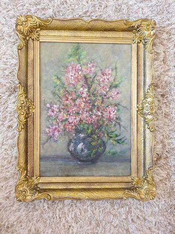 Tablou flori in vaza 2