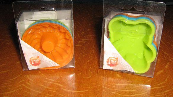 Силиконови формички за сладкиши и соленки +подарък