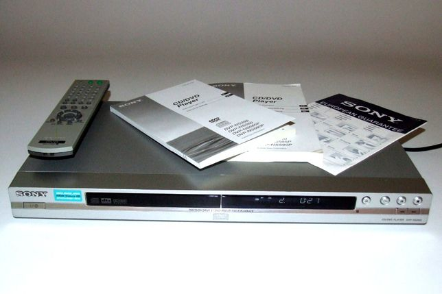 DVD / CD Player SONY DVP NS360, telecomanda, Owner's Manual, NOU