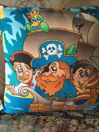 """Продам интерьерную подушку Homestore """"Пираты""""!"""