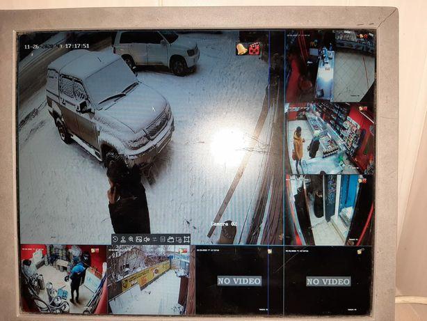 Услуги монтажа,и продажа видеонаблюдения,установка сигнализации,