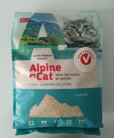 Наполнитель для кошачьего туалета соевый дробленый