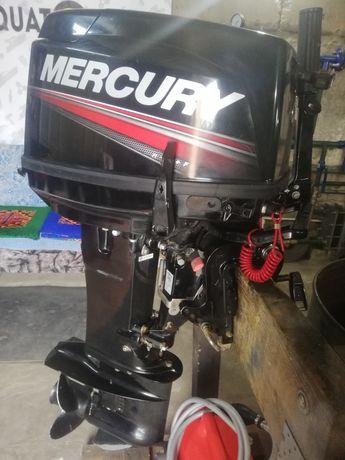 Лодочный мотор Mercury 30, состояние нового!