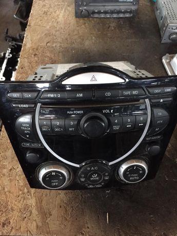 Cd Player , Magazie interna 6Cd , comenzi climatizare Mazda RX 8