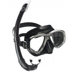 Masca scufundari, ochelari scafandru + tub.