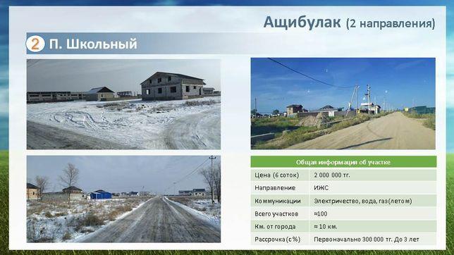 Участки в Алматинской обл. по сниженным ценам! Рассрочка