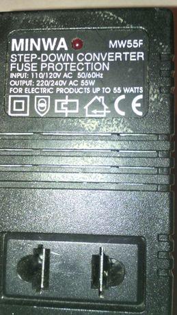 Convertor de tensiune 110/120-220/240Vca/55w