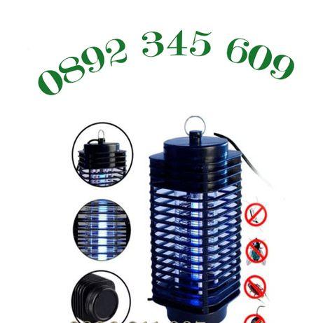 Градински фенер UV Лампа - Убиец на комари, мухи и др. KILL PEST 16W