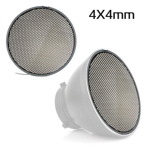 Grid Honeycomb universal 18cm /4x4mm/6x6mm pt reflector din aluminiu