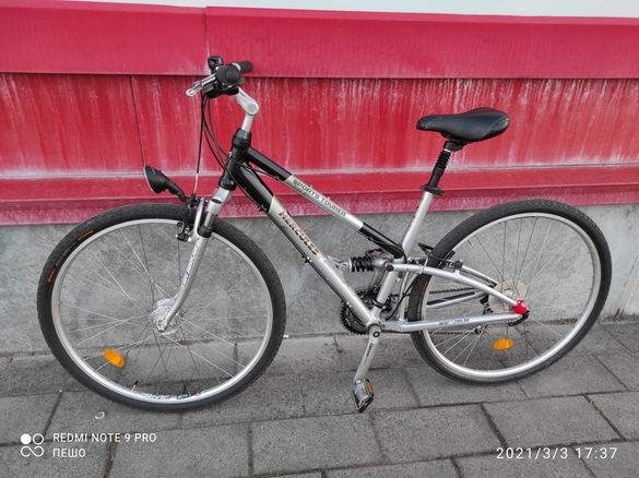 "Алуминиев велосипед Hercules 28"" 27 скорости(3х9)"