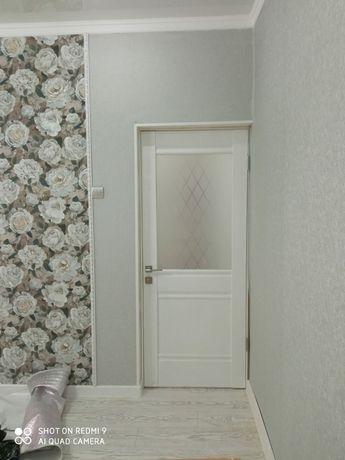 Установка дверей,ламинат