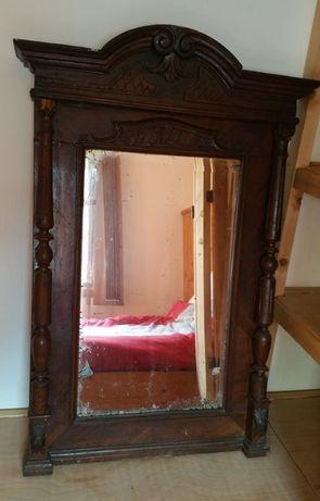 Oglinda veche lemn masiv